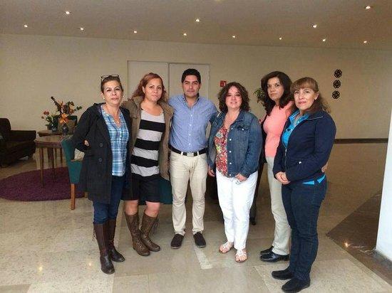 Hotel Valle de Mexico : Disfrute la estancia! y el servicio en especial de Diego Vargas!!