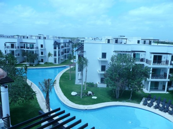 Azul Beach Resort The Fives Playa Del Carmen: View from Solarium