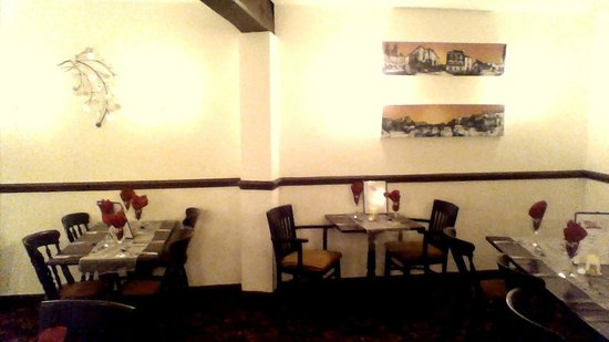 The Nags Head: Table for two