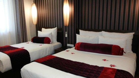 Golden Art Hotel : Upgrade our room