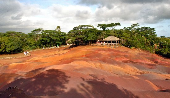 Seven Coloured Earth -- Chamarel - Mauritius