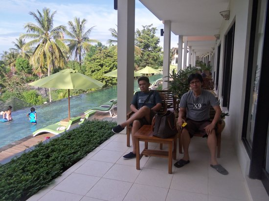 Kebun Villas & Resort: me and friend