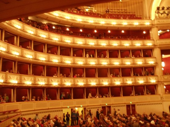 Staatsoper: view from our opera box