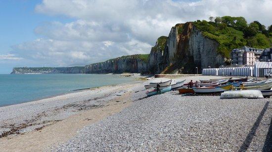 Hotel Restaurant Pub La Sirene: La plage