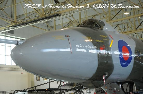 The Vulcan Experience: At Home in Hangar 3