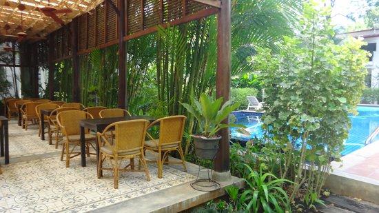 Duang Jai Resort : cafe da manha
