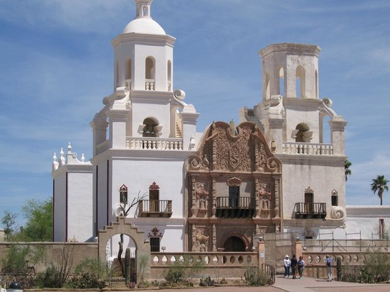 Mission San Xavier del Bac: Main Building