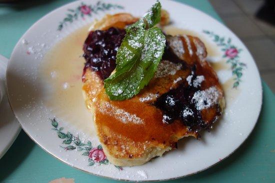 Kalaset: Blueberry pancakes : copieux et bon