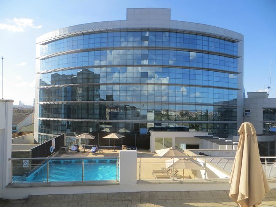 The Boma Nairobi: Swimming pool overview