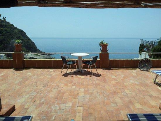 Hotel Villa Sirena: Terrazza
