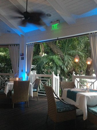 The Palms Hotel & Spa: Breakfast spot