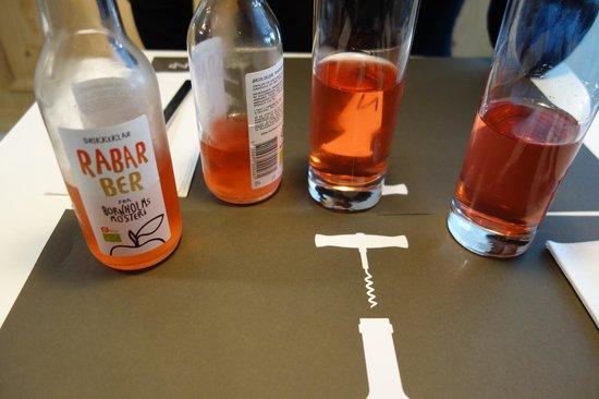 Aamanns Deli & Take Away : Jus de rhubarbe : trop bon