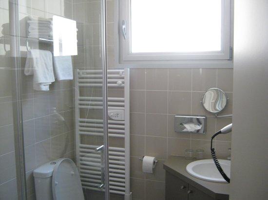 Hotel Le Richemont : Il bagno
