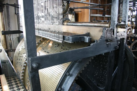 Belfort: The drum that operates the bells