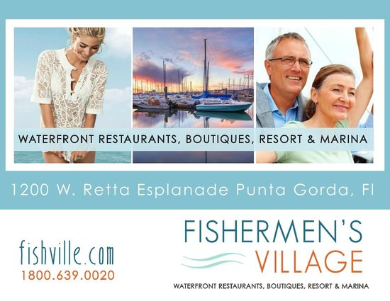 Fishermen's Village: Waterfront Shopping, Dining, Resort, & Marina