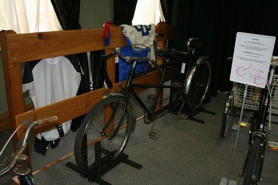 Larne Museum & Arts Centre: tandem bike