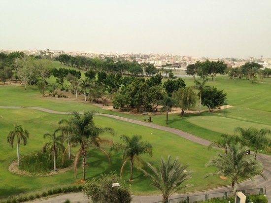 Hilton Pyramids Golf: View from my room