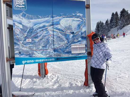 Chalet Calluna: The Grand Massif area is the 5th biggest in Europe with 265km of slopes.