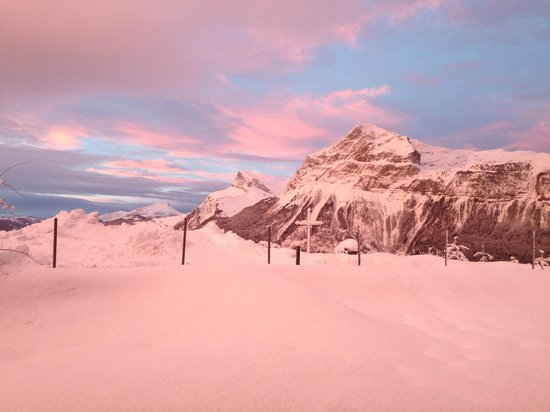 Chalet Calluna : The sky over our chalet can be as beautiful as this picture.