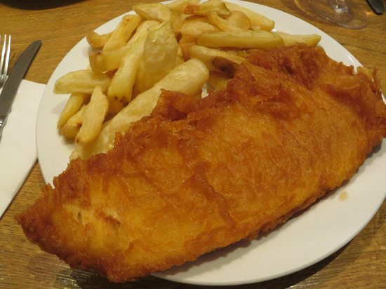Mr Chips: Perfect light batter with delicious local fresh fish.