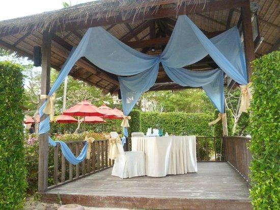 Amari Koh Samui: Romantic Dining.