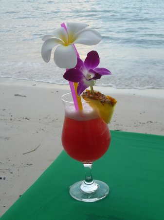Amari Koh Samui: Cocktails at dusk.