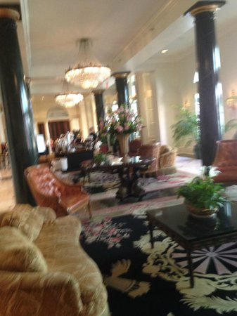 Bourbon Orleans Hotel : Waiting Room