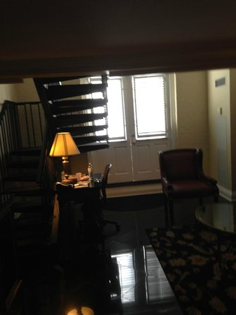 Bourbon Orleans Hotel : 1st Floor of Balcony Suite