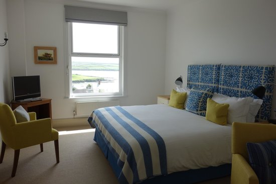 The St Enodoc Hotel: Our estuary view room