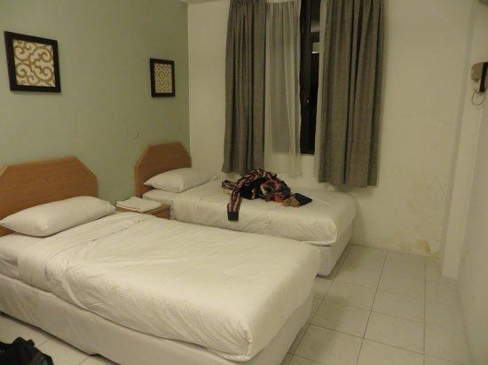 Noble Villa Apartment: the bedroom