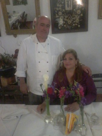 Kalypso Restaurant: me and my wife Kiki