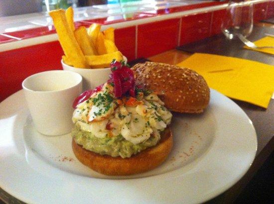 Casa Milano : Burger Homard A La Mela Verde