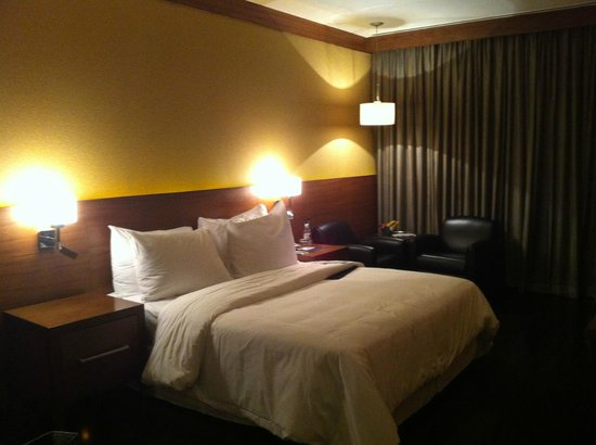 Le Meridien New Delhi: ベッドの寝心地は悪くなかったです