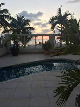 Iguana Reef Inn : Pool/Pier