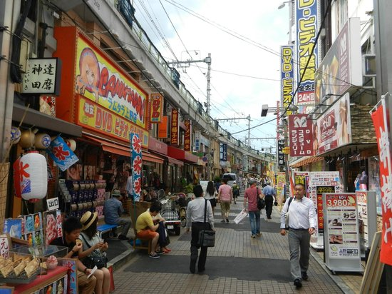 Ameyoko Shopping Street: colorful and cheap