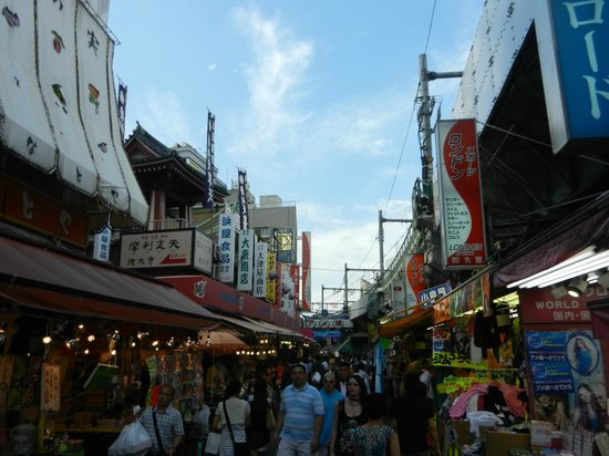 Ameyoko Shopping Street : From dusk till dawn