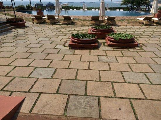 Taj Fort Aguada Resort & Spa, Goa: Pool side