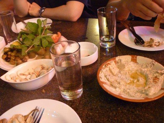Lebanese Flower Khalidia: Hummus