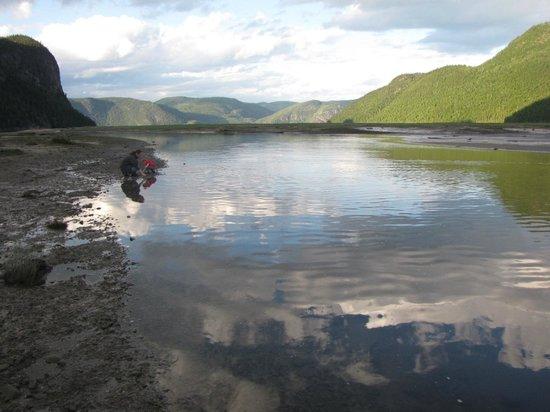 Saguenay, Canada : Baie éternité marée basse 2011