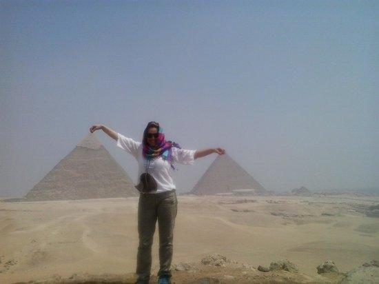 Plateau de Gizeh : Increible!!! Miles de años en un solo lugar... !!!