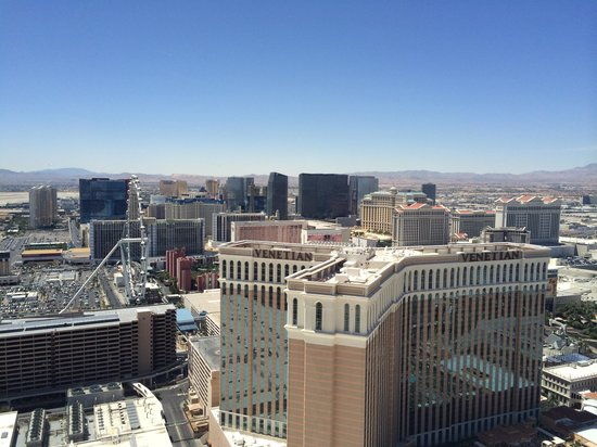 The Palazzo Resort Hotel Casino: View from our suite