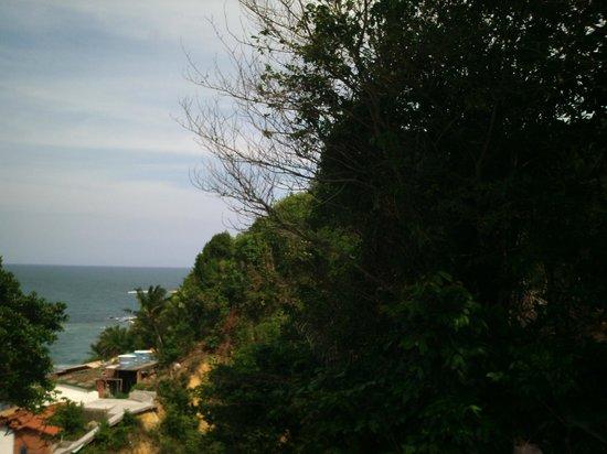 Morro Hostel: Vista do Bangalô com hidromassagem