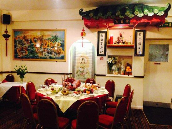 New Jasmine House: inside the restaurant