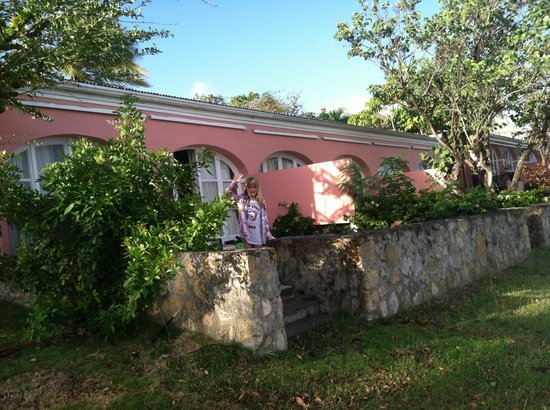 The Buccaneer St Croix: Our villa at great house had wonderful terrace view