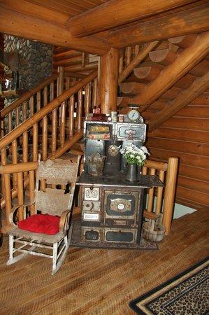 Bitterroot River Ranch: Stairway