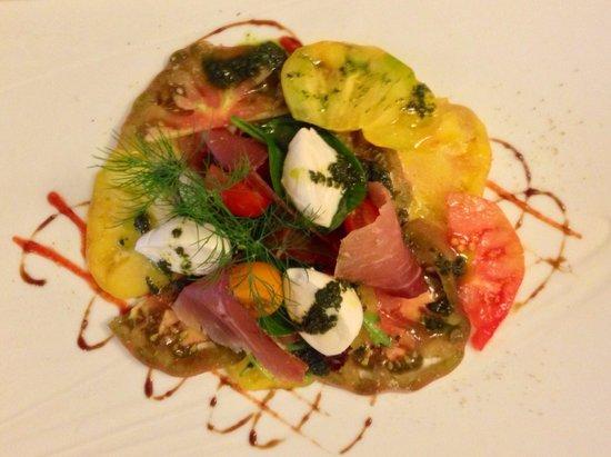 Restaurant La Fleur de Thym: Tomato carpaccio