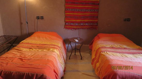 Hotel Kasbah Sahara Services : Partie de la chambre