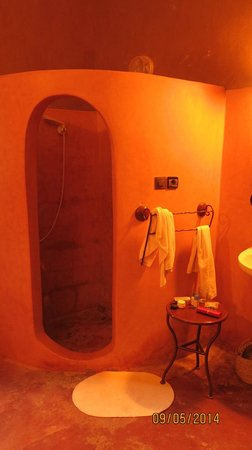 Hotel Kasbah Sahara Services: Douche