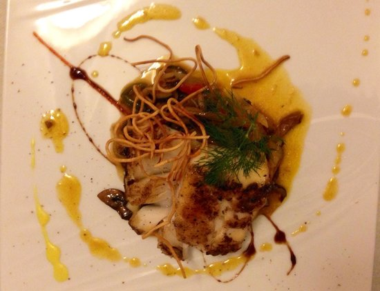 Restaurant La Fleur de Thym: Cod fish