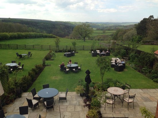 The Mallyan Spout Hotel: View from room 12